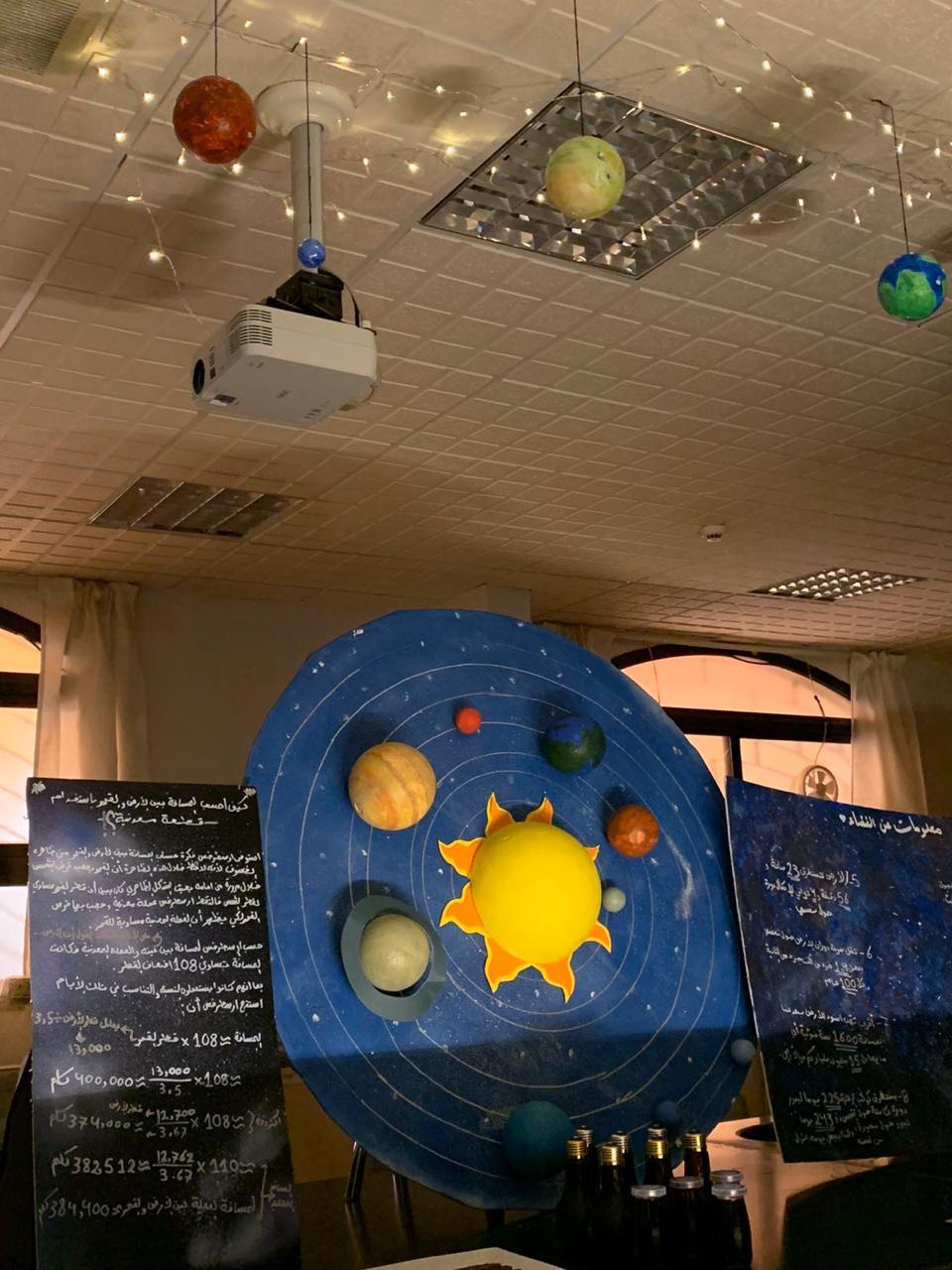 القمر .. بوابة للنجوم                              للقسم الثانوي – بنات